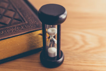 砂時計の画像