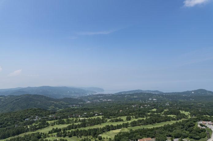 大室山からの景気の画像