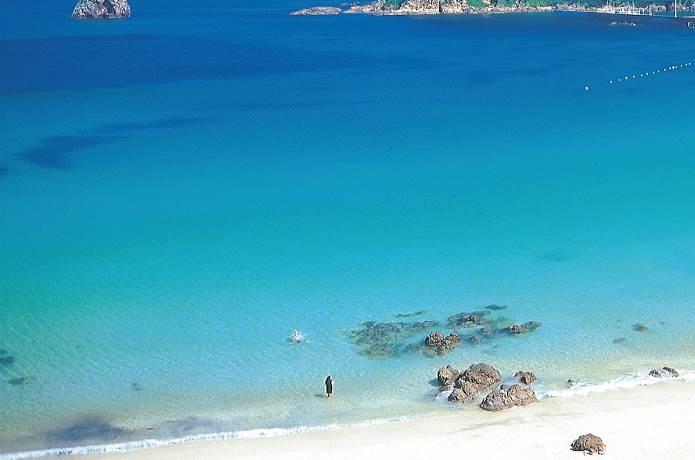 南伊豆の透明な海