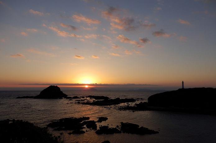 伊豆半島の夕焼け