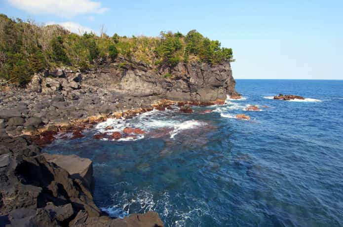 城ヶ崎海岸 俎岩